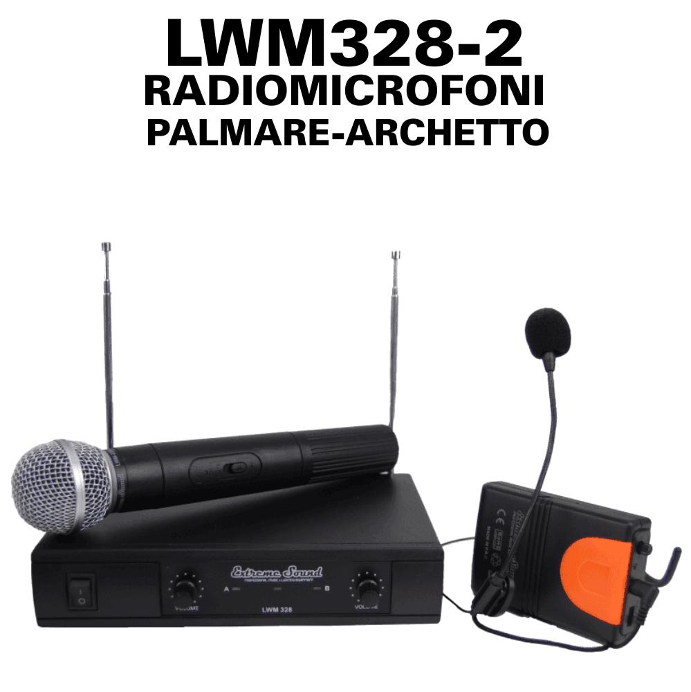 LWM328-2 RADIOMICROFONI PALMARE ARCHETTO