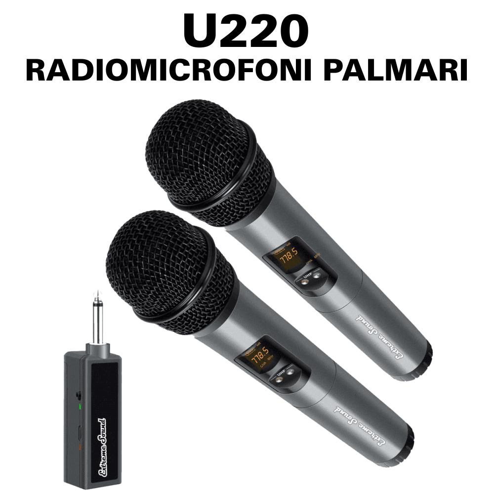 U220 RADIOMICROFONI PALMARI