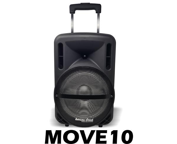 cassa acustica trolley a batteria woofer 10 pollici