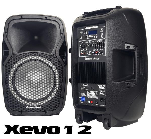 xevo 12 casse amplificate extremesound